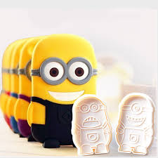 Cookie Plunger Cutter - Minions- Latest product from 4aKid