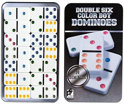 Double Six Color Dot Dominoes- Latest product from 4aKid