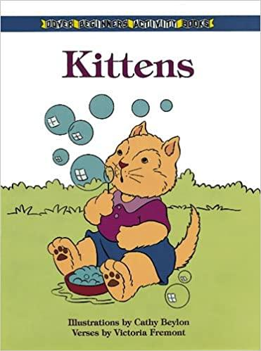Childrens E-book: Dover Beginners Activity Books - Kittens- latest product from 4aKid