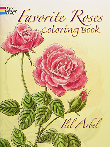 Dover Coloring Book - Favourite Roses Coloring Book- latest product from 4aKid - 4aKid Blog