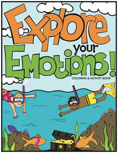 Explore My Emotions - Colouring and Activity Book- latest product from 4aKid