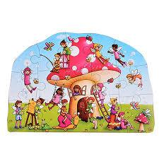 Fairy Cottage 15pc Shaped Floor Puzzle- latest product from 4aKid