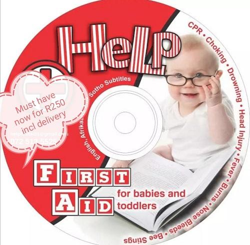 Help First Aid DVD- latest product from 4aKid