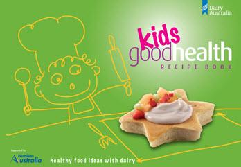 Kids Good Health Recipe Book- latest product from 4aKid