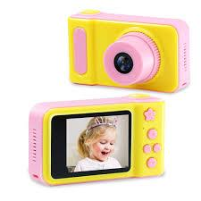 Kids Camera - Pink & Yellow- latest product from 4aKid