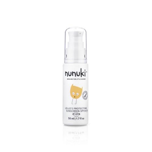 Nunuki - Protecting SPF Sunscreen 50ml- latest product from 4aKid
