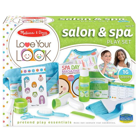 Melissa & Doug Love Your Look - Salon & Spa Play Set- Latest product from 4aKid
