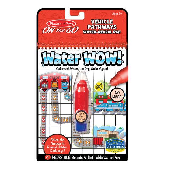 Melissa & Doug Water Wow! - Vehicles Pathways- Latest product from 4aKid