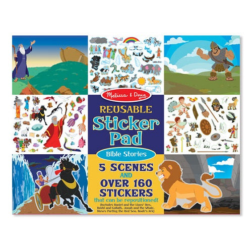 Melissa & Doug Reusable Sticker Pad - Bible Stories- latest product from 4aKid - 4aKid Blog
