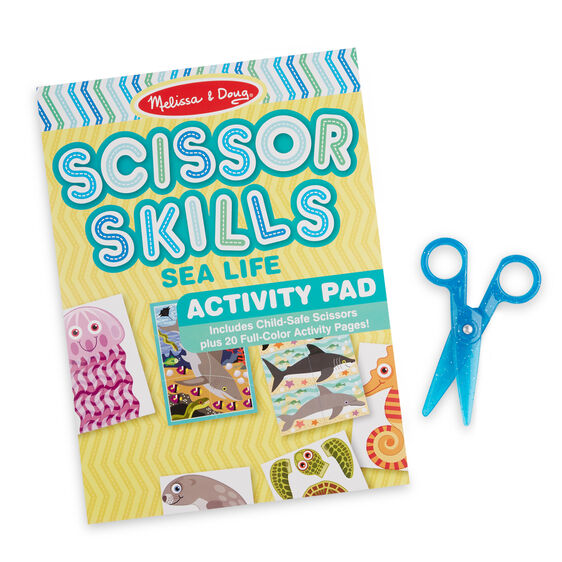 Melissa & Doug - Sea Life Scissor Skills- Latest product from 4aKid - 4aKid Blog