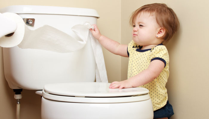 My toddler drank toilet water. What must I do?