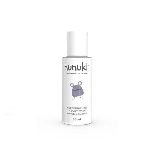 Nunuki - Nurturing Hair and Body Wash 50ml- latest product from 4aKid