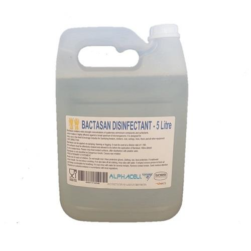SABS & NRCS-Approved Bactasan Disinfectant - 5L- Latest product from 4aKid