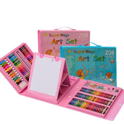 Super Mega Art Set 208pc - Assorted Colours- latest product from 4aKid