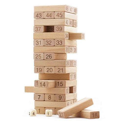 Wooden Blocks 54pc Jenga Game- Latest product from 4aKid - 4aKid Blog