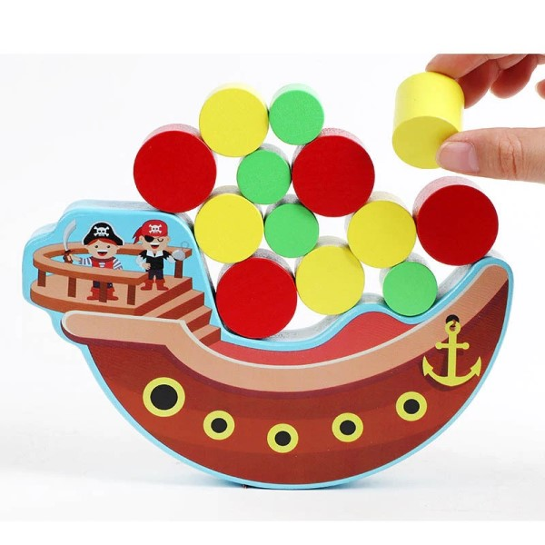 Wooden Pirate Balance Game- Latest product from 4aKid - 4aKid Blog