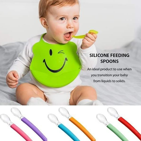 The Wee Baby Silicone Feeding Spoons are an ideal product to use when you transition your baby from liquids to solids: https://bit.ly/2Mo8QH0