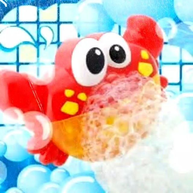 This Bubble Crab Bath Toy will entertain your toddler while getting a good scrub after a long day of play. See more https://4akid.co.za/products/bubble-crab-bath-toy