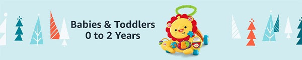 Babies & Toddler 0-2 years Holiday Guide - 4aKid Blog