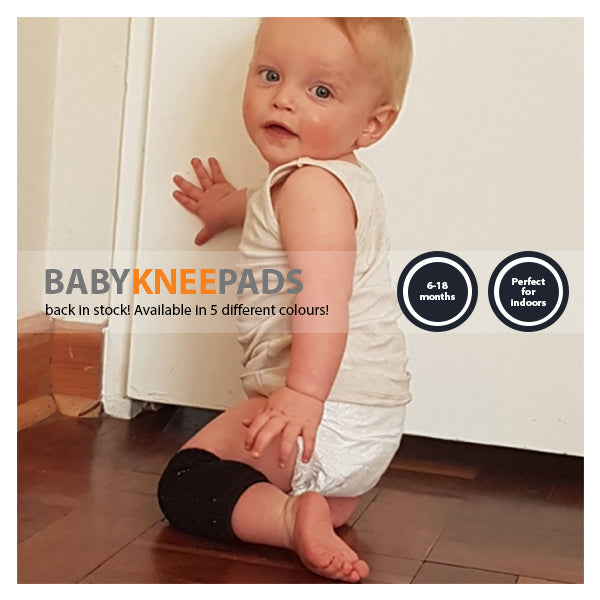Baby Knee Pads are back in stock!