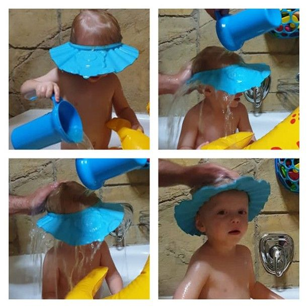 Makes hair-washing easy and tear-free! This 4aKid Shampoo Cap keeps shampoo and water out of baby's or toddler's delicate eyes and ears during bath or shower time. Get it online here >>> https://zcu.io/Cotc  https://www.instagram.com/p/B9WfENblCGn/