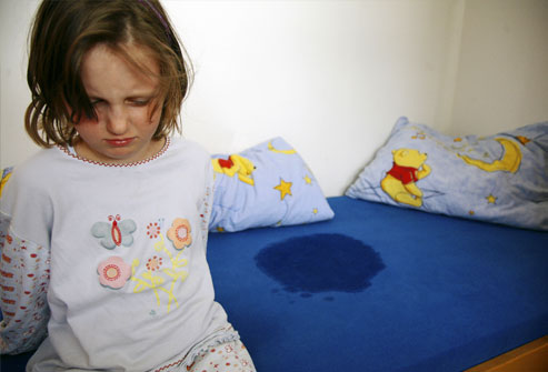Why does my child pee the bed?