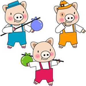 The Three Little Pigs- Latest product from 4aKid