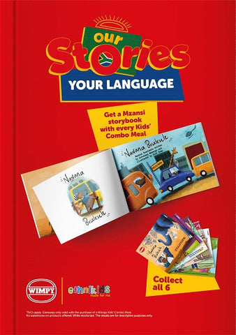 Our stories your language book in red