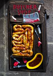 "Chorizo & Cheese ""Intestines"""