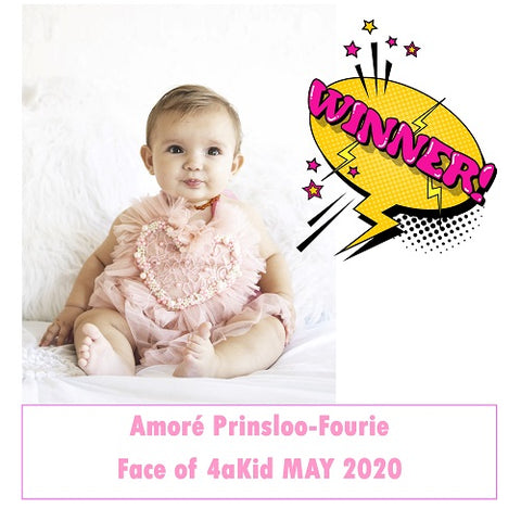 Winner of Face of 4aKid May 2020
