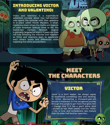 cartoon network new show victor and valentino image 2