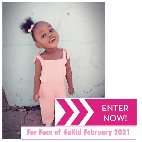 Entries now open for Face of 4akid February 2021