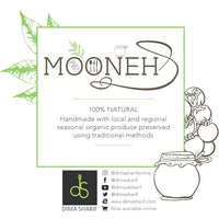 MOONEH 100% natural, handmade with local organic seasonal produce using traditional methods