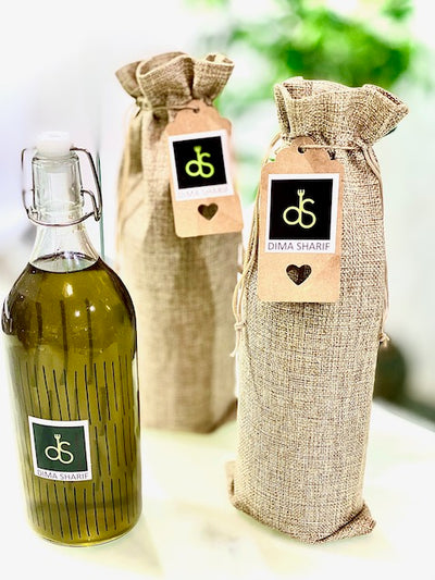 1- DS Premium Organic Extra Virgin Olive Oil Gift Bottle