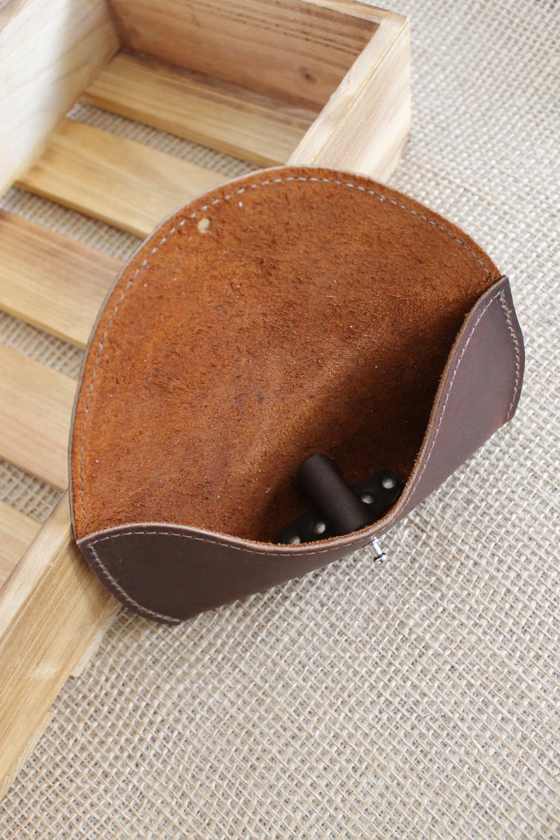Personalized Leather Sunglass Case Glasses Holder