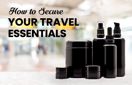 How To Secure Your Travel Essentials According to TSA Requirements | Infinity Jars