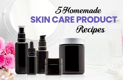 5 Homemade Skin Care Product Recipes | Infinity Jars