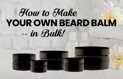 How to Make Your Own Beard Balm - In Bulk! | Infinity Jars
