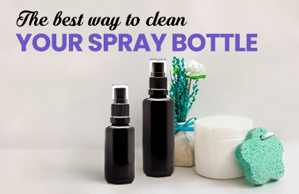 The Best Way To Clean Your Spray Bottles (And Why You Should Do It)