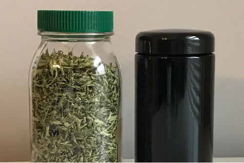 Storing Dried Herbs & Essential Oil Remedies