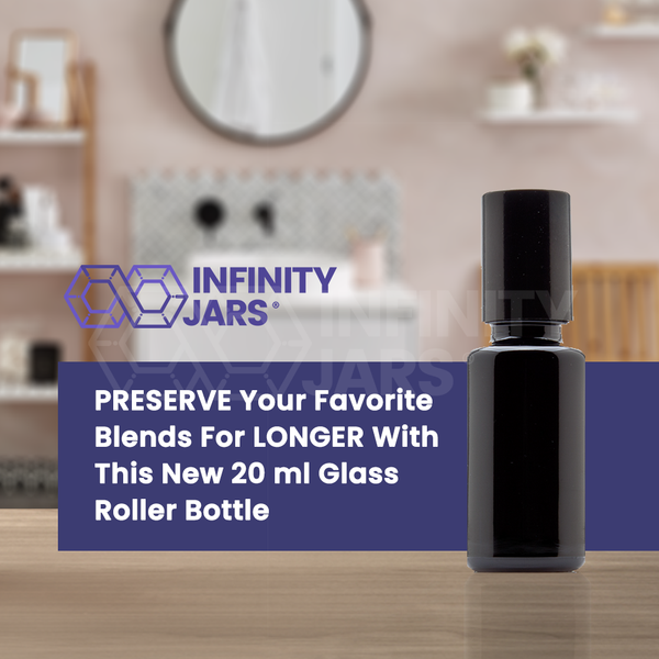 20 ml Glass Roller Bottle - InfinityJars