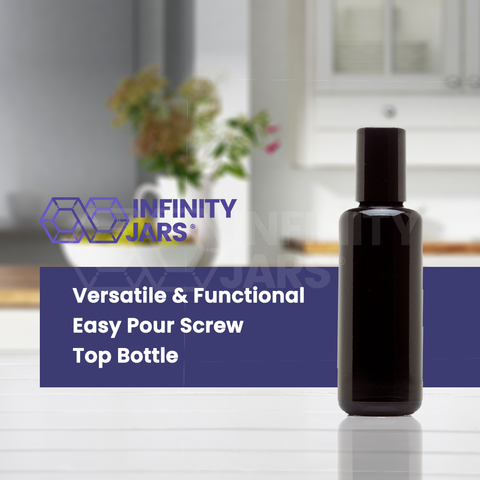 50 ml Easy Pour Screw Top Bottle - InfinityJars