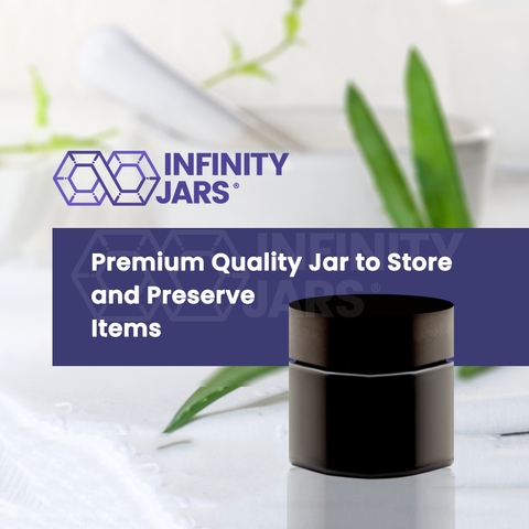 50 ml Classic Screw Top Jar - InfinityJars