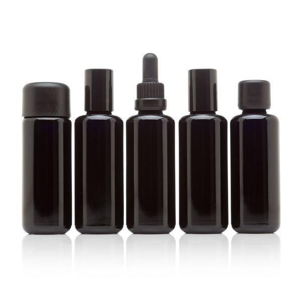 50 ml Five Bottle Cosmetic Collection - InfinityJars