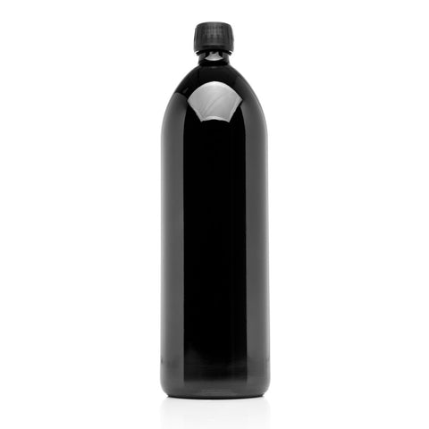 1 Liter Round Glass Bottle