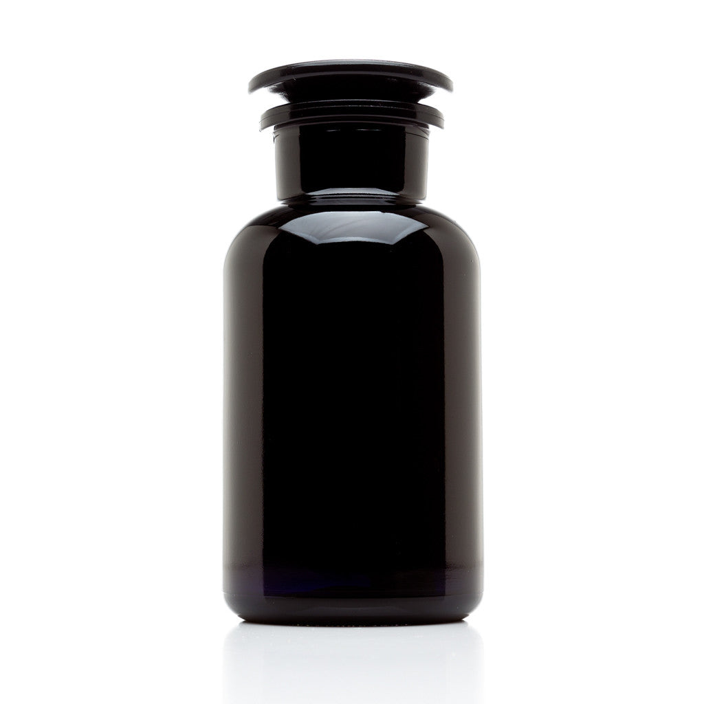 500 Ml Glass On Glass Apothecary Jar Infinity Jars