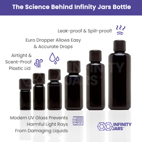 Essential Oil 6 Bottle Variety Pack - InfinityJars