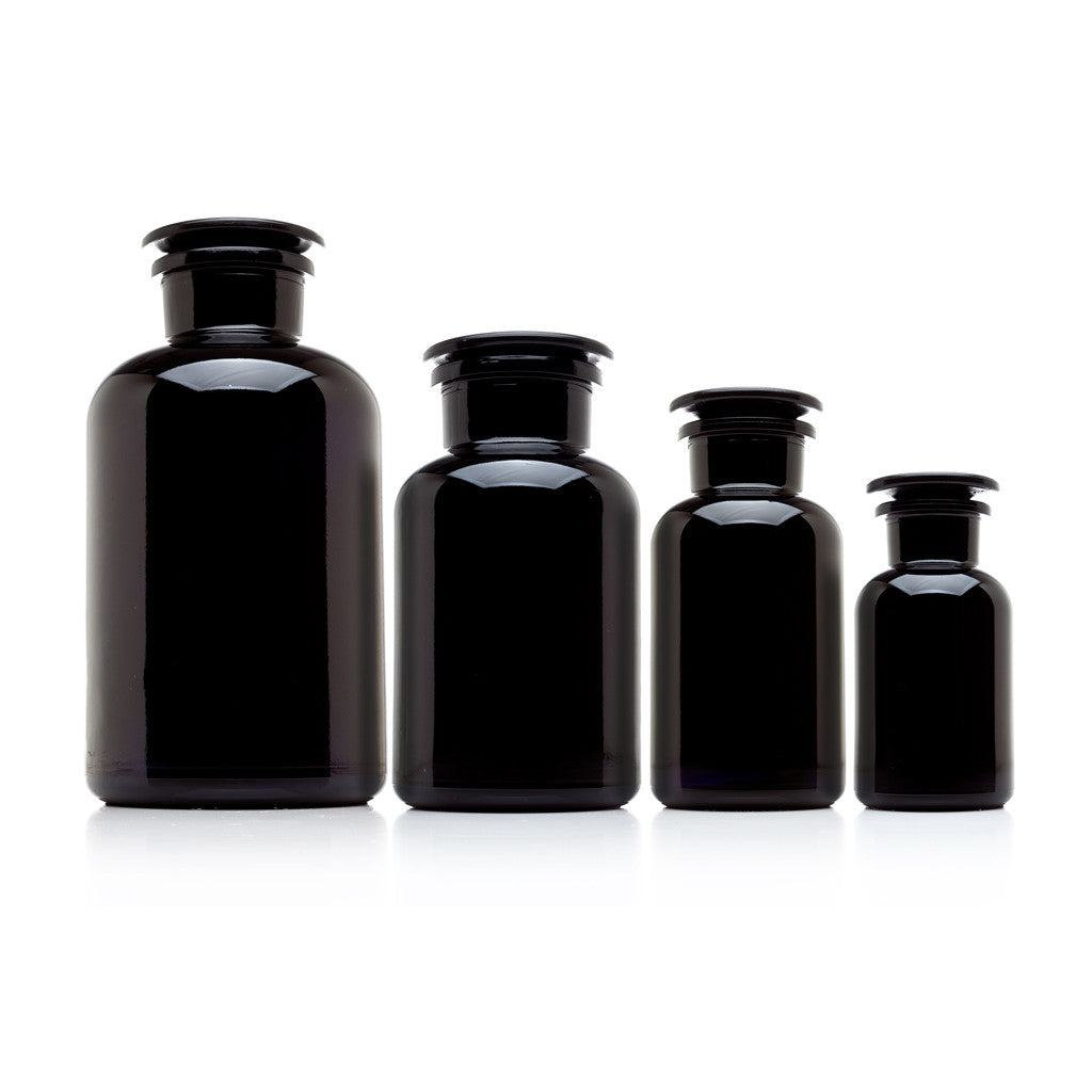 the complete apothecary collection 4 allglass jars