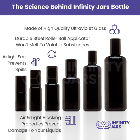 Glass Roller Bottle Variety Pack - InfinityJars