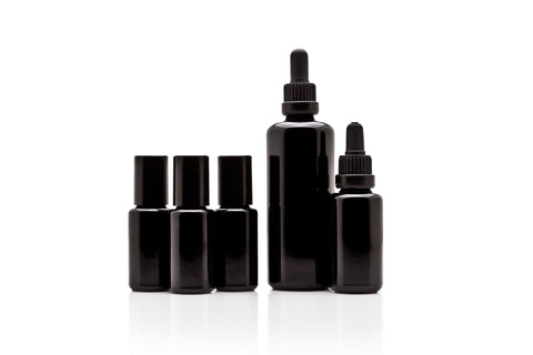 Infinity Jars Essential Oil Value Pack: 100 ml dropper, 30 ml dropper, 3x15 ml steel roller bottles - InfinityJars